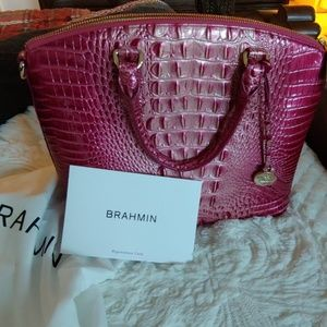 ❤ Brahmin Sudbury Satchel Lotus Melborn Color🌷